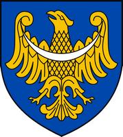 Wappen der polnischen Woiwodschaft Schlesien 1923.