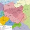 Schlesien während der mährisch-bömischen Zeit zwischen 960 und 992.